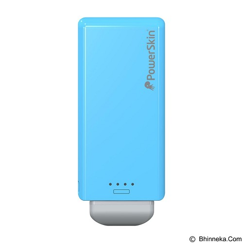 POWERSKIN PoPn 2 Case Power for Smartphone Micro USB 2000 mAh - Blue (Merchant) - Portable Charger / Power Bank