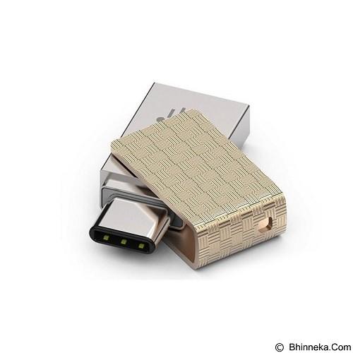 PQI Connect 313 USB 3.1 Type-C OTG Flash Drive 32GB (Merchant) - Usb Flash Disk Dual Drive / Otg