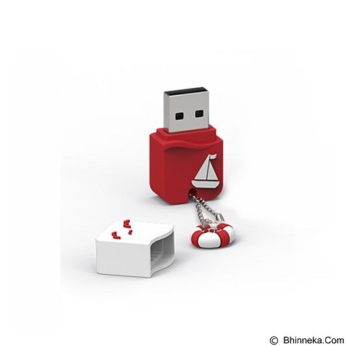PQI Flashdisk 16GB [U605L] - Red (Merchant) - Usb Flash Disk / Drive Stylish