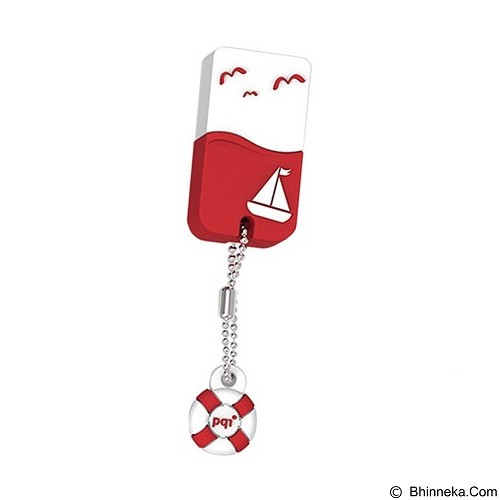 PQI Flashdisk 32GB [U605L] - Red (Merchant) - Usb Flash Disk / Drive Stylish