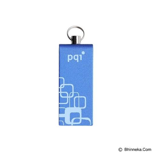 PQI Flashdisk 32GB [i813L] - Blue (Merchant) - Usb Flash Disk Basic 2.0