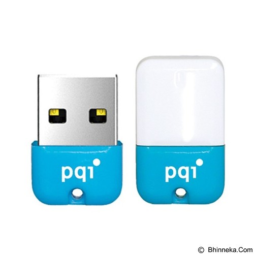 PQI Flashdisk Mini 32GB [U602L] - Blue (Merchant) - Usb Flash Disk Basic 2.0