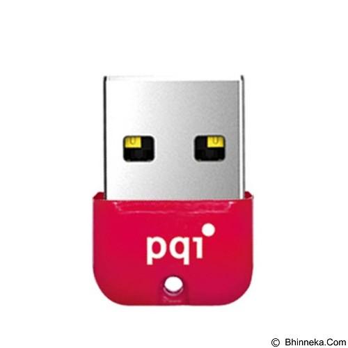 PQI Flashdisk Mini 32GB [U602L] - Red (Merchant) - Usb Flash Disk Basic 2.0