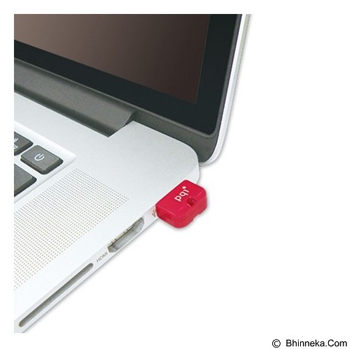 PQI Flashdisk Mini 32GB [U602L] - Red (Merchant) - Usb Flash Disk Basic 2.0