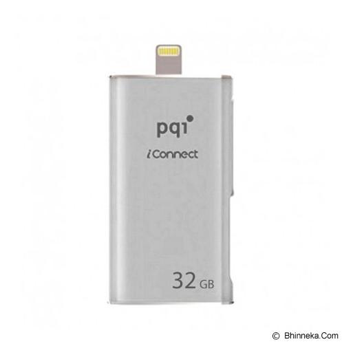 PQI iConnect 32GB - Silver - Usb Flash Disk Dual Drive / Otg