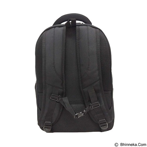 PRESIDENT Tas Ransel Impor [06568] - Black (Merchant) - Notebook Backpack