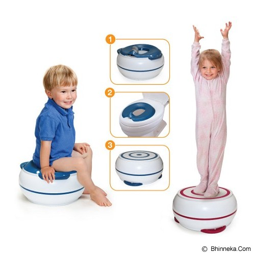 PRINCE LIONHEART 3in1 Potty - Berry Blue - Baby Potty and Seat