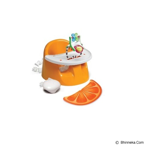 PRINCE LIONHEART Bebe POD Flex Plus orange - Baby Highchair and Booster Seat