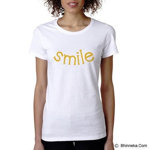 PRINT N WEAR Smile Size L - Kaos Wanita