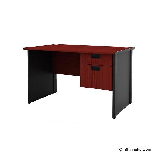 PRISSILA HOME LIVING Meja Kantor [MP-120+MPH-02] (Merchant) - Meja Kantor