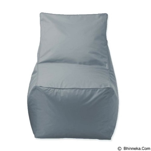 PRISSILIA Bean Bag - Chair Grey - Bantal Duduk / Bean Bag