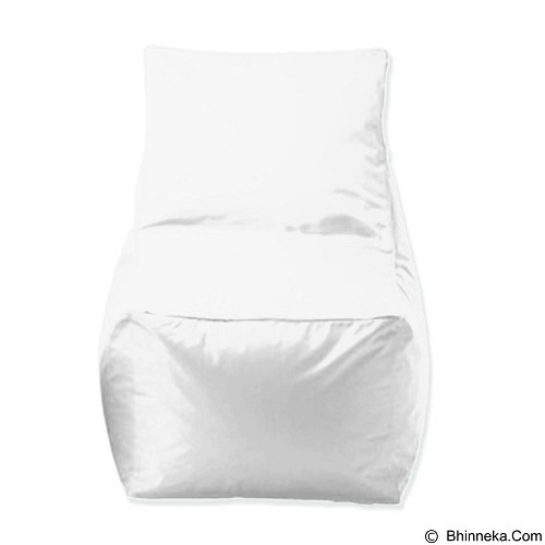 PRISSILIA Bean Bag - Chair White - Bantal Duduk / Bean Bag