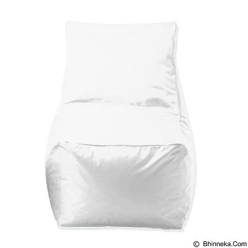 PRISSILIA Bean Bag - Chair White - Bantal Duduk / Bean Bag