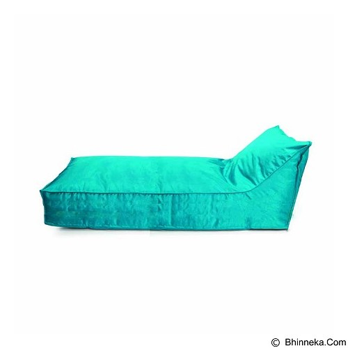 PRISSILIA Bean Bag - Lounger Long Blue - Bantal Duduk / Bean Bag