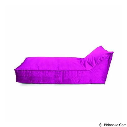 PRISSILIA Bean Bag - Lounger Long Pink - Bantal Duduk / Bean Bag