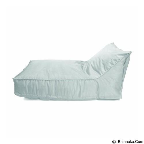 PRISSILIA Bean Bag - Lounger Short White - Bantal Duduk / Bean Bag