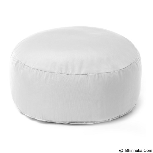 PRISSILIA Bean Bag - Puff White - Bantal Duduk / Bean Bag