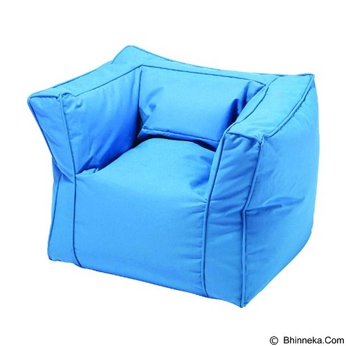 PRISSILIA Bean Bag - Sofa Blue - Bantal Duduk / Bean Bag