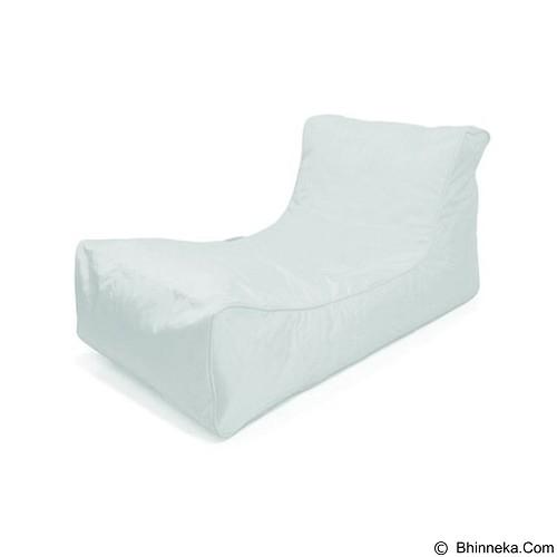 PRISSILIA Bean Bag -  Studio Lounge White - Bantal Duduk / Bean Bag