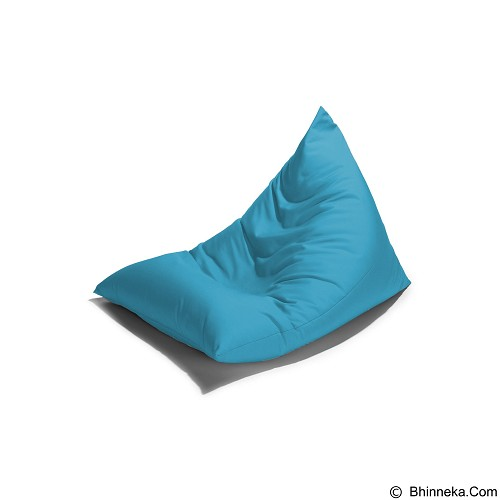 PRISSILIA Bean Bag - Triangle Blue - Bantal Duduk / Bean Bag