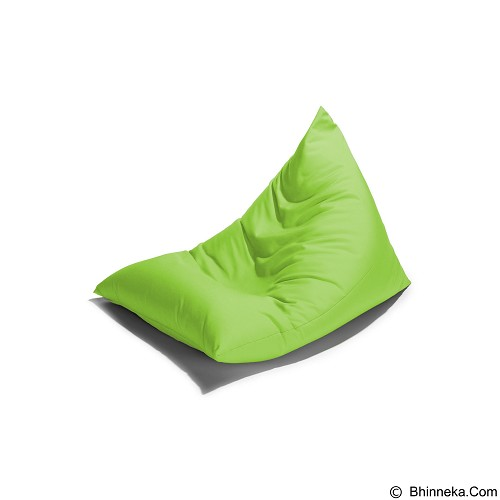 PRISSILIA Bean Bag - Triangle Lime - Bantal Duduk / Bean Bag