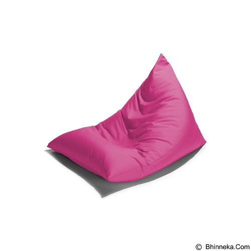 PRISSILIA Bean Bag - Triangle Pink - Bantal Duduk / Bean Bag