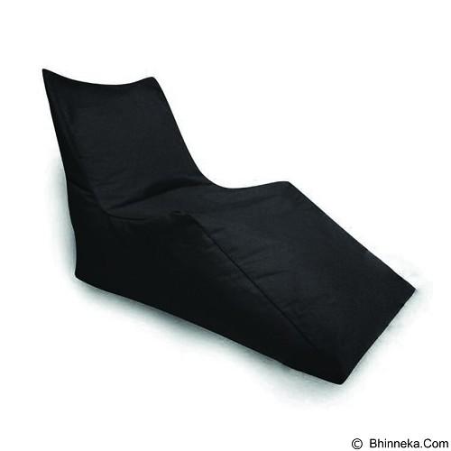 PRISSILIA Bean Bag - Z Chair Black - Bantal Duduk / Bean Bag