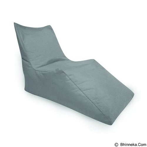 PRISSILIA Bean Bag - Z Chair Grey - Bantal Duduk / Bean Bag