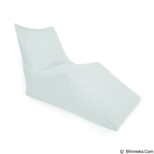 PRISSILIA Bean Bag - Z Chair White - Bantal Duduk / Bean Bag