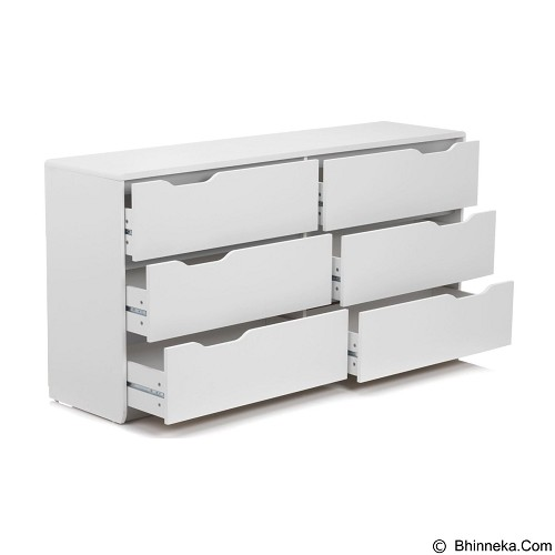PRISSILIA Cool Chest 6 Drawer - Drawer
