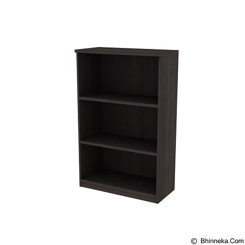 PRISSILIA Filing Cabinet [DMC-00] - Dark Oak (Merchant) - Filing Cabinet / Lemari Arsip