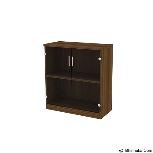 PRISSILIA Lemari Arsip [DLC-00+DC-04] - Teakwood (Merchant) - Filing Cabinet / Lemari Arsip