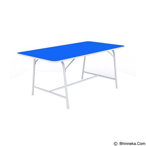PRISSILIA Meja Belajar [MSD-5133] - Blue (Merchant) - Meja Belajar