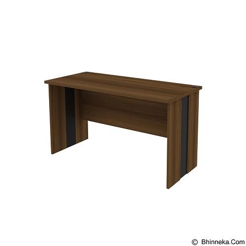 PRISSILIA Meja Kantor [MD-1275] - Teakwood (Merchant) - Meja Kantor
