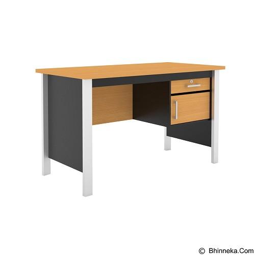 PRISSILIA Meja Komputer [MTM-3001] - Beech (Merchant) - Meja Komputer