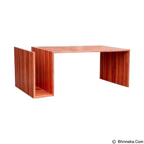 PRISSILIA Metapod Pine Coffee Table (Merchant) - Meja Ruang Tamu
