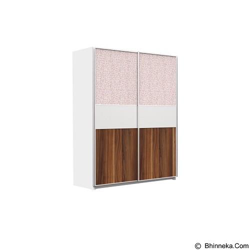 PRISSILIA Natalia Wardrobe 2 Door A Version (Merchant) - Drawer
