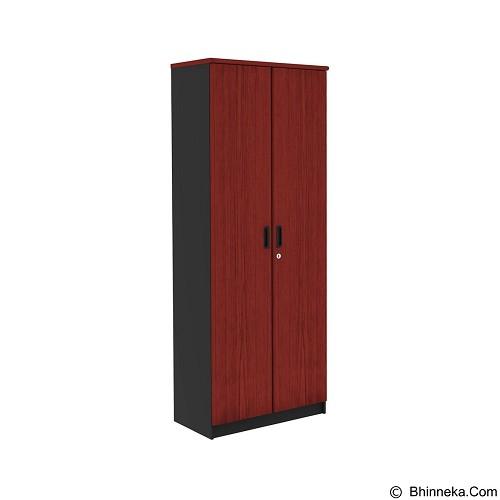 PRISSILIA Necro Bookcase [MPR-201+MPR-202] - Mahogany (Merchant) - Filing Cabinet / Lemari Arsip