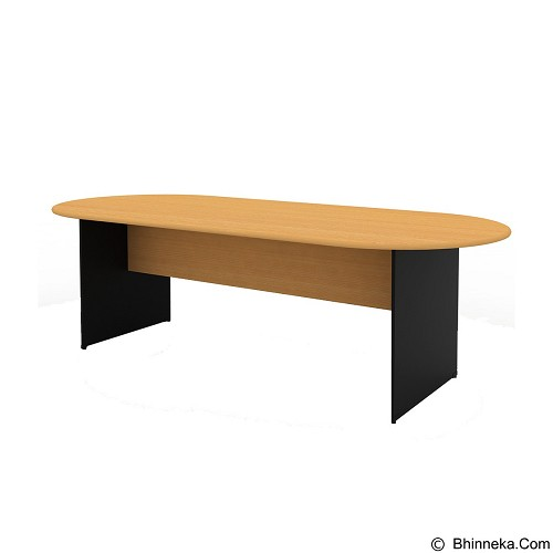 PRISSILIA Necro Conference Table 180 [MPM-180] - Beech (Merchant) - Meja Kantor