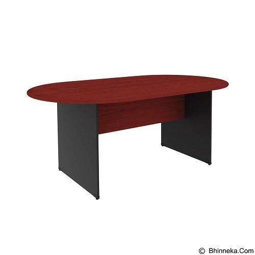 PRISSILIA Necro Conference Table [MPM-240] - Mahogany (Merchant) - Meja Kantor