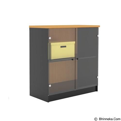 PRISSILIA Necro Office Cabinet [MPR-11+MPG-81] - Beech (Merchant) - Filing Cabinet / Lemari Arsip