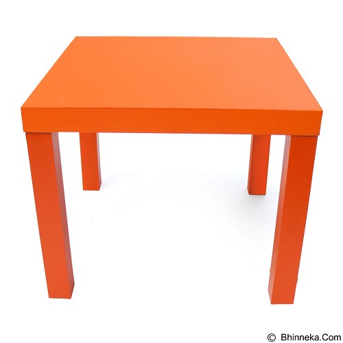 PRISSILIA Next End Table - Orange - Meja Restoran