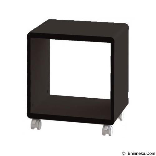 PRISSILIA Shape Night Stand - Black - Rak Mini