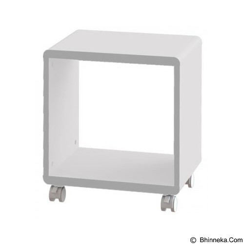 PRISSILIA Shape Night Stand - White - Rak Mini