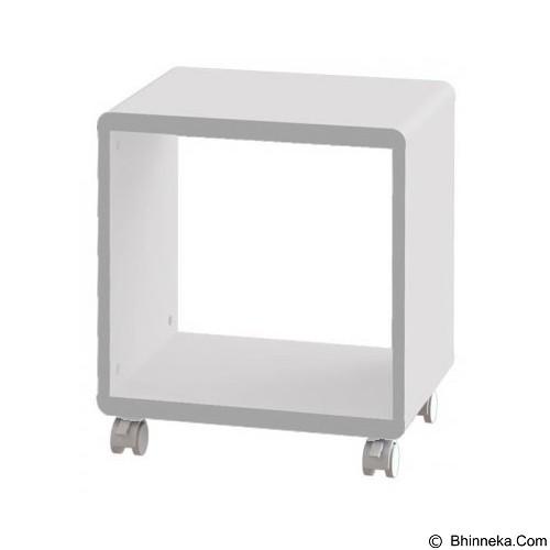 PRISSILIA Shape Night Stand - White - Rak Mini