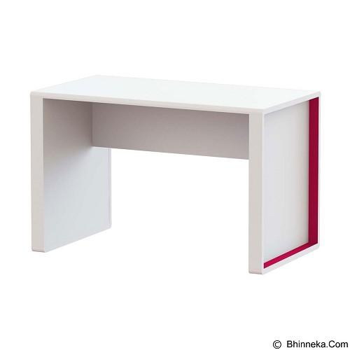 PRISSILIA Smurf Desk - Fuschia - Meja Belajar