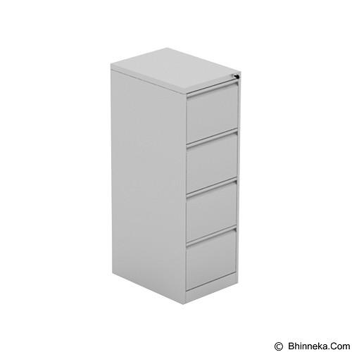 PRISSILIA Yi-Shun Steel Cabinet 4 Drawers (Merchant) - Filing Cabinet / Lemari Arsip