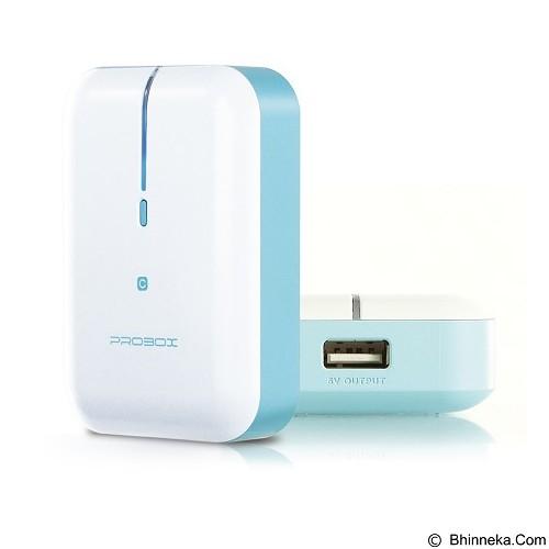 PROBOX Mini Series [HE6-52UIC] Powerbank 5200mAh - Blue - Portable Charger / Power Bank