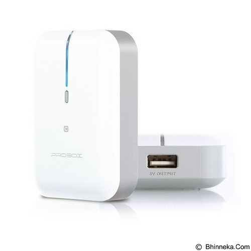 PROBOX Mini Series [HE6-52UIC] Powerbank 5200mAh - Gray - Portable Charger / Power Bank