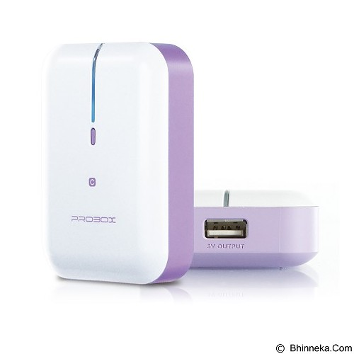 PROBOX Mini Series [HE6-52UIC] Powerbank 5200mAh - Purple - Portable Charger / Power Bank